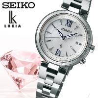 【SEIKO LUKIA】 セイコールキア ソーラー電波 腕時計 レディース SSQV013 ≪レビ...