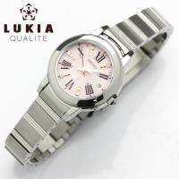 SEIKO セイコー LUKIA ルキア ソーラー電波 腕時計 レディース ピンク ssqw001電...
