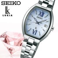 【SEIKO LUKIA】 セイコールキア ソーラー電波 腕時計 レディース SSQW027 ≪レビ...
