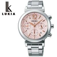 【SEIKO セイコー LUKIA ルキア ソーラー 腕時計 レディース】電池交換が不要のレディース...