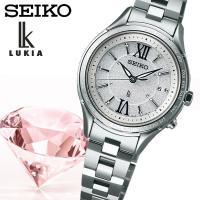 【SEIKO LUKIA】 セイコールキア ソーラー電波 腕時計 レディース SSVV011 ≪レビ...