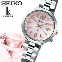 【SEIKO LUKIA】 セイコールキア ソーラー電波 腕時計 レディース SSVV017 ≪レビ...