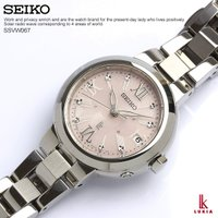 SEIKO セイコー LUKIA ルキア ソーラー電波 腕時計 レディース SSVW067電池交換や...