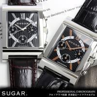 クロノグラフ 腕時計 メンズ 限定モデル ブランド こだわり抜いたエレガント『SUGAR.』 限定モ...