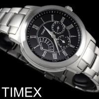 【TIMEX タイメックス】 腕時計 メンズ レトログラード メタル カレンダー T2M424 全米...