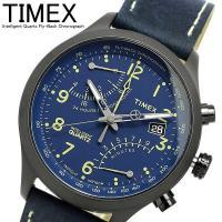 【TIMEX タイメックス】 腕時計 インテリジェントクオーツ フライバッククロノグラフ T2P38...