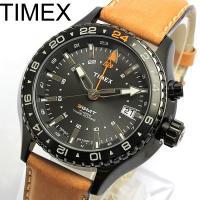≪訳あり 無地BOXのため大特価≫【TIMEX】 タイメックス 腕時計 メンズ GMT T2P427...