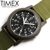 【 TIMEX / タイメックス 】 CAMPER キャンパー 腕時計 メンズ ナイロンベルト T4...