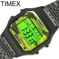【TIMEX】タイメックス 80 デジタル メンズ 腕時計 カジュアル TW2P67100 1854...