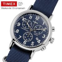 TIMEX タイメックス ウィークエンダー クロノグラフ ナイロンNATOストラップ 腕時計 TW2...