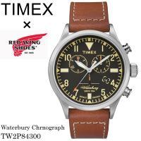 TIMEX タイメックス 腕時計 レッドウィング Red Wing クロノグラフ ウォーターベリー ...