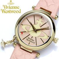 【Vivienne Westwood】 腕時計 レディース オーブチャーム付き VV006PKPK ...