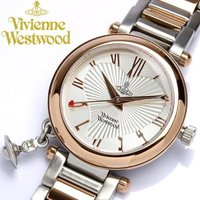 【Vivienne Westwood】 腕時計 レディース オーブチャーム付き VV006RSSL ...