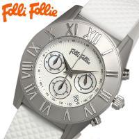 フォリフォリ Folli Follie クロノグラフ ブランド レディース 腕時計 WF8T006Z...