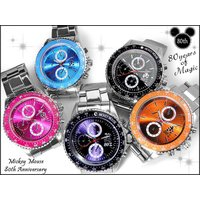 【disney_y】ディズニー ミッキー 腕時計 80周年記念カラーメタルウォッチ 〜MICKEY ...