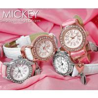 【disney_y】ミッキー シリアルナンバー入り ハートチャーム限定モデル 腕時計 世界的に有名な...