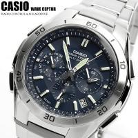 【CASIO カシオ】 ソーラー電波 腕時計 メンズ クロノグラフWVQ-M410DE-2A2JF ...