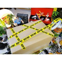FBIや警察が事件のあった場所を取り囲むのに使うあのテープをモチーフにしたパッキングテープのSサイズ...