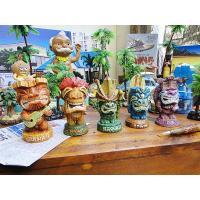 ティキと言えば、木彫りの茶色いヤツがハワイのおみやげの定番でしたが、アメリカだとアーティストの手によ...