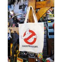 ゴーストバスターズのトートバッグ(ホワイト)  ■ アメリカン雑貨 アメリカ雑貨 グッズ GHOSTBUSTERS メンズ バッグ おしゃれ レディース