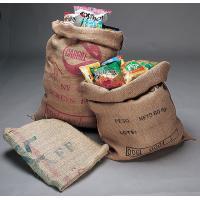 コーヒー豆を輸入してきたリサイクルの麻袋です。  そうそう! 子供の頃、運動会で中に入ってピョンピョ...