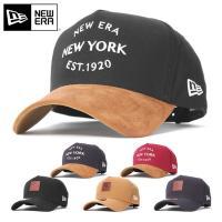 ニューエラキャップ NEW ERA CAP|「9FORTY」 特殊加工できれいなシルエットをキープす...