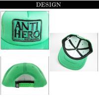 ANTIHERO/アンタイヒーロー/新作/RESERVE SAFETY/グリーン/帽子/スナップバック/キャップ/メンズ/レディース/スケート
