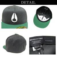 NIXON ニクソン キャップ BBキャップ メジャーキャップ フレックスフィット 帽子 ICON 210 アウトドア メンズ レディース スケート