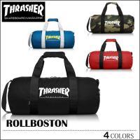 THRASHER スラッシャー ボストンバッグ ボストンバック ショルダーバッグ ブラック ブルー カモ レッド メンズ レディース スケート スケーター