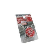 ライトチューニングからハードチューニングまで対応するBLITZ レーシングラジエーターキャップ。 圧...