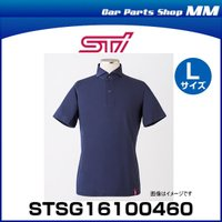 STI STSG16100460 ドライビングシャツ(半袖)ネイビー Lサイズ