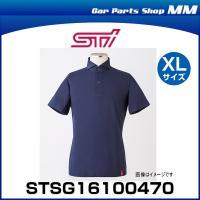 STI STSG16100470 ドライビングシャツ(半袖)ネイビー XLサイズ