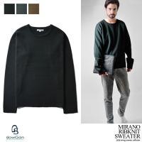 [商品説明] ベーシックなデザインで着回しの利くニットセーターが登場。 シンプルなデザインでありなが...