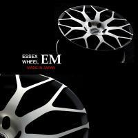 ESSEX新作ホイール EMシリーズ。 ESSEX初の斬新なメッシュタイプです。  センターキャップ...
