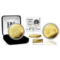 ☆イチロー選手の3000本安打記念のゴールドコインです。 表面にイチロー選手3000本安打記念ロゴ、...