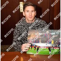 リオネル・メッシ 直筆サインフォト 額入り 15-16 バルセロナ ゴールvsアスレティック・ビルバオ Lionel Messi Signed Barcelona Photo Goal vs Athletic Bilbao|cardfanatic|02
