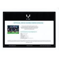 リオネル・メッシ 直筆サインフォト 額入り 15-16 バルセロナ ゴールvsアスレティック・ビルバオ Lionel Messi Signed Barcelona Photo Goal vs Athletic Bilbao|cardfanatic|04