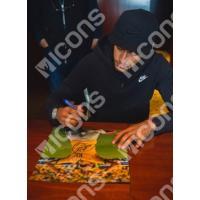 ネイマール 直筆サインフォト 額入り ブラジル代表 ワールドカップ セレブレーション Signed Brazil Photo World Cup Celebration / Neymar|cardfanatic|02