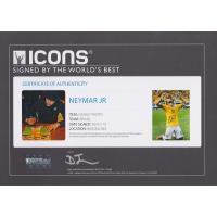 ネイマール 直筆サインフォト 額入り ブラジル代表 ワールドカップ セレブレーション Signed Brazil Photo World Cup Celebration / Neymar|cardfanatic|03