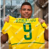 ロナウド 直筆サイン入りユニフォーム 2002-03 ブラジル代表 ホーム バックサイン (Ronaldo Back Signed Brazil 2002-03 Home Shirt)|cardfanatic|02