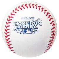 ★2009年メジャーリーグのオールスターゲームの前日に行われる、ホームランダービーで使用される公式球...