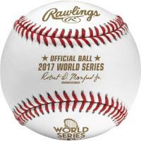 Rawlings MLB 2017 World Series Official Baseball  ...