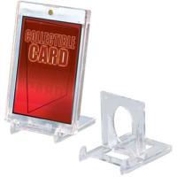 (ウルトラプロ UltraPro 収集用品) 可動式カードスタンド 5個入り (2PC, スクリューダウン用) (#82022)