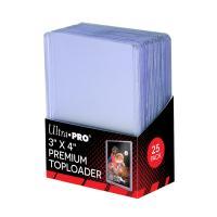 (ウルトラプロ UltraPro 収集用品) レギュラーサイズ・カード用トップローダー (クリア) 25枚入りパック (#81145B)|cardfanatic
