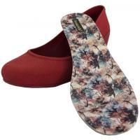 BOAONDA(ボアオンダ) 1442-200 ウエッジパンプス カラー: CHERRY RED(チェリーレッド)