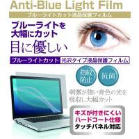 【ブルーライトカット液晶保護フィルムとシリコンキーボードカバーのセット】NEC LaVie Hybr...