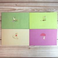 【宅配便での配送になります】 〔Moomin☆ムーミン谷〕  ムーミンから一筆箋が セットになった福...