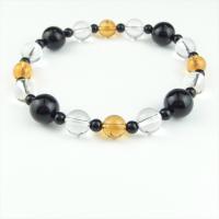 天然石 ブレスレット オニキス シトリン 水晶|cathaycoral|05
