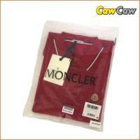 Moncler モンクレール ポロシャツ ダークレッド Lサイズ メンズ