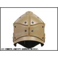 モジュラーヘルメット ヘルメット フルフェイスマスク 1体型 電動換気ファン付 NVGマウント付 (タンカラー)
